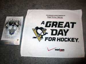 Pittsburgh-Penguins-2012-Playoff-RALLY-TOWEL-game-2-Flyers-Program-Sidney-Crosby
