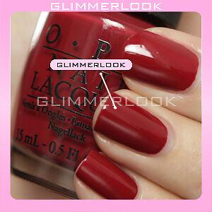 OPI NAIL POLISH - CLASSICS Chick Flick Cherry H02