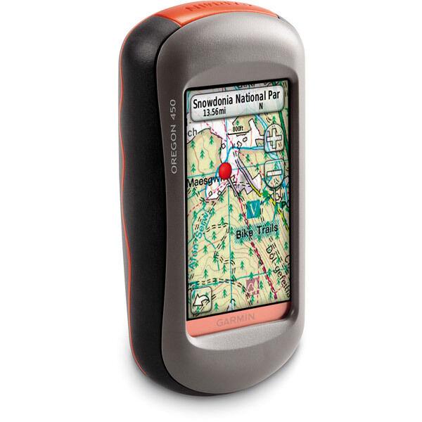 Garmin Oregon 450 Touchscreen Handheld GPS Receiver 010-00697-40