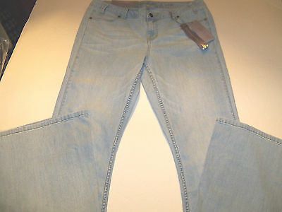 JENNIFER LOPEZ WIDE LEG STRETCH FLARED JEANS MISSES SZ 10 LONG NWT