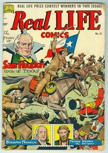Real-Life-51-January-1950-VG-Schomburg-Western-cover