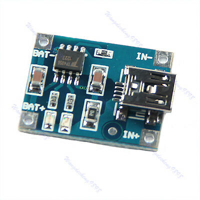 5Pcs 5V Mini USB 1A TP4056 Lithium Battery Charging Board Power Charger Module