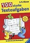 100 starke Textaufgaben, 3./4. Klasse (2009, Taschenbuch)