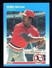 1987 Fleer Willie Mcgee #304 Baseball Card