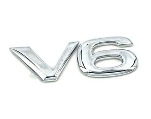 Genuine-New-VAUXHALL-V6-BADGE-Opel-Vectra-C-amp-Signum-2-6-3-2-SRi-GSi-2002-2006