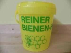 Eimer-m-Deckel-1kg-Honigeimer-Eimer-Kst-Imkerei-Imker-Honig-Bee-Bees-Honey