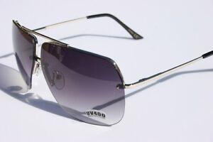 Celebrity-fashion-Aviator-Sunglasses-Gray-Gradient-lens-Silver-metal-frame