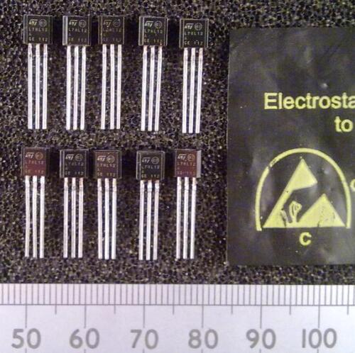 Qty 10 79L IC 0.1A TO92 Various Linear Fixed Voltage Regulators 78L