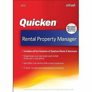 QUICKEN-RENTAL-PROPERTY-AND-MANAGER-2012-BRAND-NEW