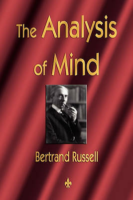 The Analysis of Mind by Bertrand Russell (Paperback / softback, 2010)