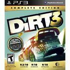 DiRT 3 -- Complete Edition (Sony PlayStation 3, 2012)