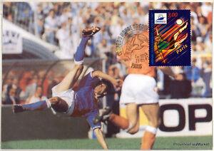 yt-3077-FRANCE-CPA-Carte-Postale-Maximum-FOOTBALL-PARIS