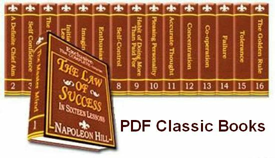 LAW OF SUCCESS in 16 Complete Lessons NAPOLEON HILL Classic Self-Help Book on CD