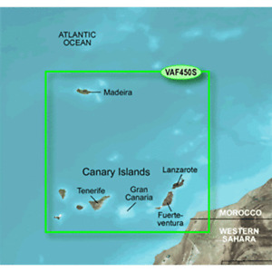 Canary Islands Map on