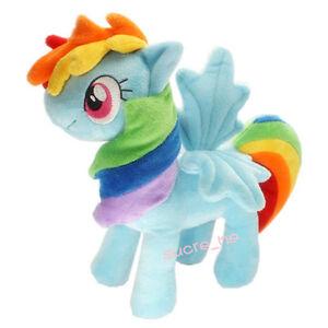 My-Little-Pony-Friendship-is-Magic-Figure-Rainbow-Dash-Horse-Plush-Doll-US-SHIP
