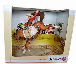 SCHLEICH-42046-RODEO-HORSE-SET-NEW-IN-BOX