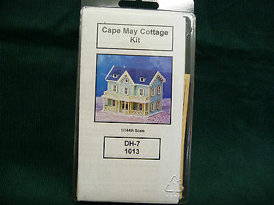 Cape May Cottage Wood Miniature Doll House Kit by NorthEastern 1/144th scale