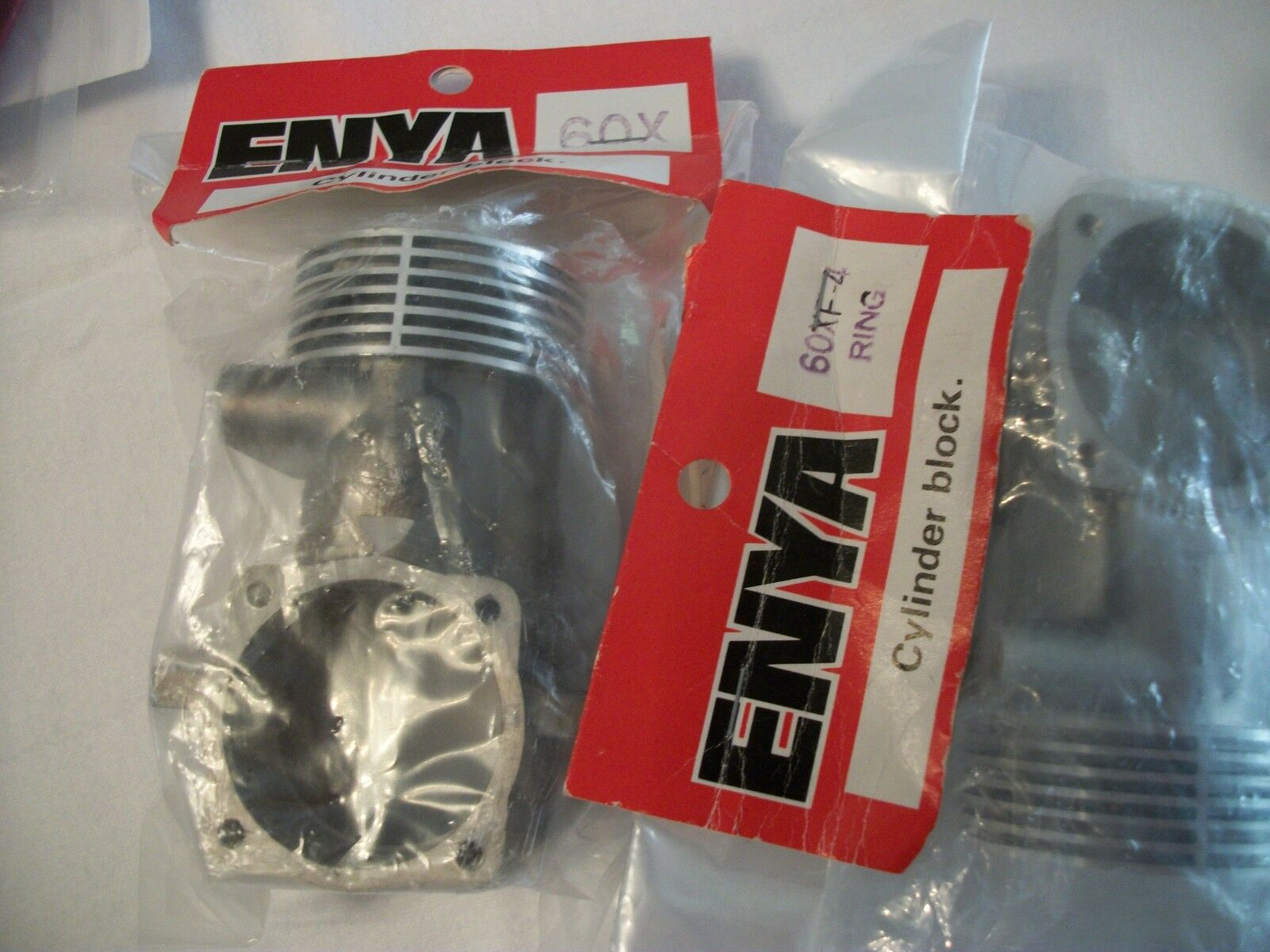 ENYA.60X - 60XF-4 RING CRANKCASE  NIB (CHOICE REQUIRED)