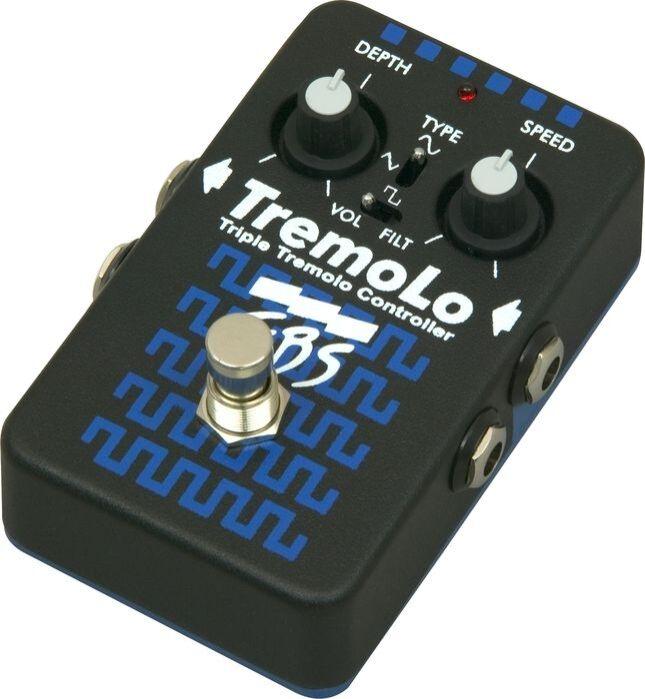 EBS TremoLo Tremolo Guitar Effect Pedal