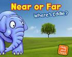 Near or Far: Where's Eddie? by Daniel Nunn (Hardback, 2012)