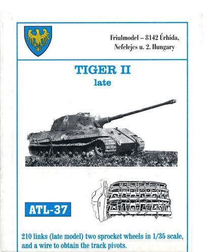 1/35 ATL37 FreeShip FRIULMODEL TRACKS For GERMAN TIGER II  Late DRAGON TAMIYA