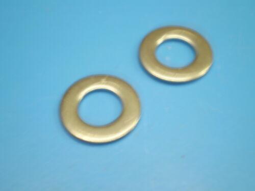 Edelstahl V2A Unterlegscheiben DIN 125  M1,6 - M20 mm  Beilagscheiben