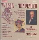 Weber: Overtures; Hindemith: Symphonic Metamorphoses on the Themes of Carl Maria von Weber (1989)
