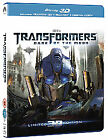 Transformers - Dark Of The Moon (3D Blu-ray, 2012, 3-Disc Set)