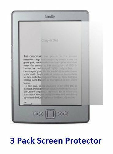 3 x Ultra Clear HD LCD Screen Protector Film Guard for Amazon Kindle 4 Tablet