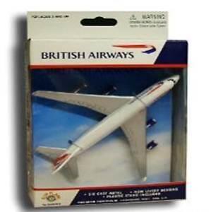 British-Airways-Boeing-747-BA6264-Scale-Model-Toy-Plane-3-NEW-Die-Cast