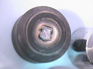 Lot-Of-3-60-039-s-DODGE-Plymouth-Chrysler-Steering-Wheel-Horn-Buttons