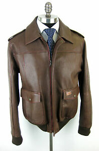 New-STEFANO-RICCI-1000-Mille-Miglia-Kangaroo-Leather-Racing-Jacket-M-NWT-8-000