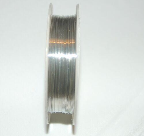 10m  0,4mm Kupferdraht Schmuckdraht Copper wire rot blau grün gold 0,25€//m
