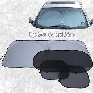Roll up sunshade for car