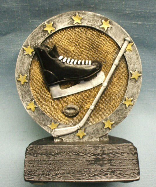 HOCKEY resin  skate puck stick trophy award economy short