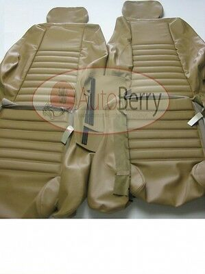 Jaguar XJS 1989-1996 Leather replacement Seat Covers OEM Material