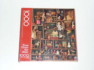 Puzzle Toys From the Attic Vintage & New in Box Springbok Hallmark