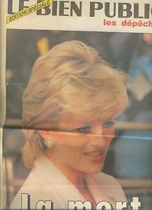 le-bien-public-la-mort-de-DIANA-septembre-1997