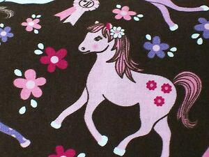 Sweet-Ponies-Multi-Fabric-by-Michael-Miller-sold-by-the-yard-100-cotton