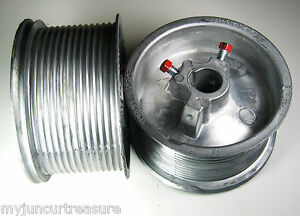 garage door drumGarage Door Cable Drum For up to 18 High Doors D525216  eBay