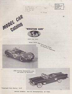 1960s-1970s-MINIATURE-CARS-model-car-catalog-price-list