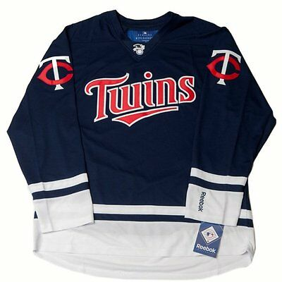 Minnesota Twins Premier Hockey Jersey by Reebok - Very Rare