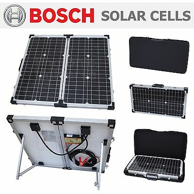 60W folding solar panel kit / battery charger car,motorhome,caravan,boat,camping