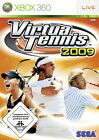 Virtua Tennis 2009 (Microsoft Xbox 360, 2009, DVD-Box)