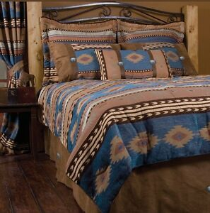 Western Southwest Sierra Bedding Set Twin Queen King