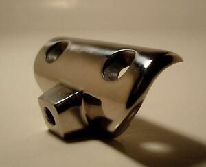 WINDSHIELD-MOUNT-Concave-Side-Rail-Hardware-Bimini-Top-S-S-Marine-Fitting