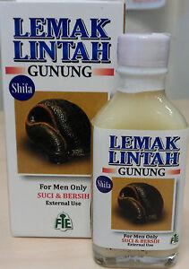 penis growth enhancement enlargement lemak lintah leech fat oil