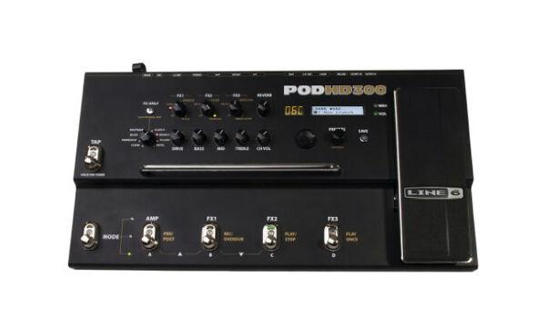 line 6 pod hd300 multi effects guitar effect pedal for sale online ebay. Black Bedroom Furniture Sets. Home Design Ideas