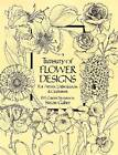 A Treasury of Flower Designs for Artists, Embroiderers and Craftsmen: 100 Garden Favorites by Susan Gaber (Paperback, 1981)