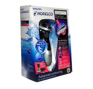 Philips-Norelco-AT875-Deluxe-AquaTec-Rotary-Razor-Shaver-Wet-amp-Dry-Brand-New